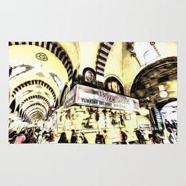 Spice Bazaar Istanbul Art Rug