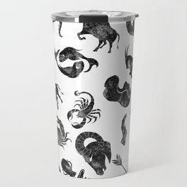 Zodiac Star Pattern Travel Mug
