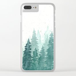 Evergreens Clear iPhone Case