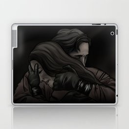 she can't get in // kabby Laptop & iPad Skin