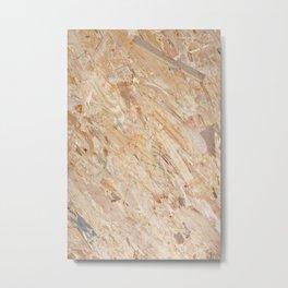 Wooden flakeboard Metal Print