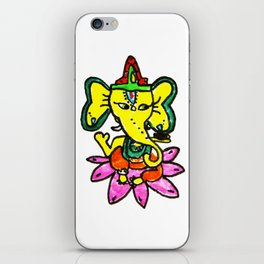 Ganesha by Elisavet iPhone Skin