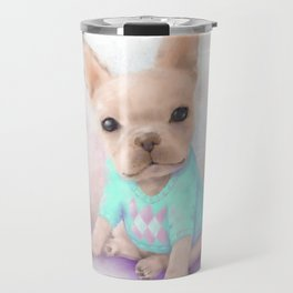 French Bull Dog Travel Mug