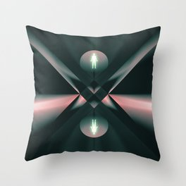 Ascend - Descend Throw Pillow
