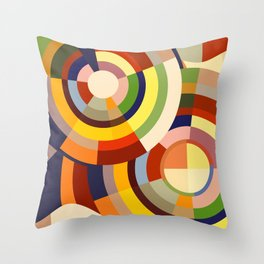 Colour Revolution SEVEN Throw Pillow