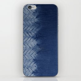 Shibori Chevron Stripe iPhone Skin