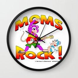 MOMS ROCK Wall Clock
