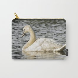 Swimming swan Carry-All Pouch