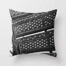 Hunting Lighthouse Stairs 1 Throw Pillow