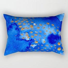 gold snow I Rectangular Pillow