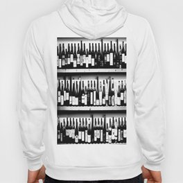 Wine Bottles in Black And White #society6 #decor Hoody