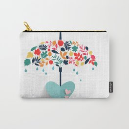 Valentines day special Love Umbrella Carry-All Pouch