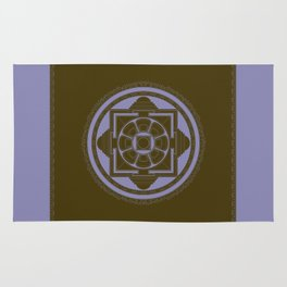 Kalachakra Mandala Rug