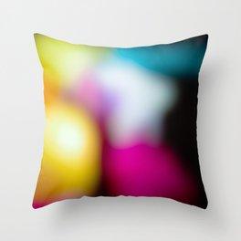 Bunter Traum Throw Pillow