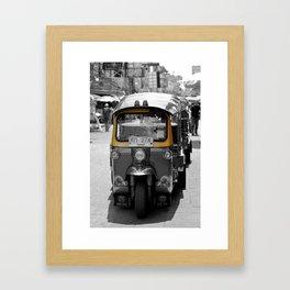 Tuk Tuk?! Framed Art Print