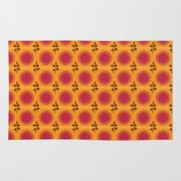 Ma Boheme La Floraison - Floral Bohemian Pattern Rug