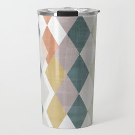 Rhombuses 2 Travel Mug
