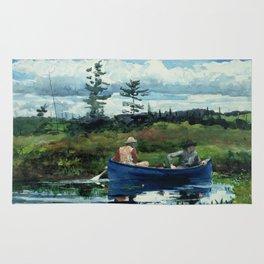 Winslow Homer - The Blue Boat, 1892 Rug