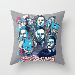 Inside Gaming Throw Pillow