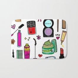 Cosmetic Doodles Bath Mat