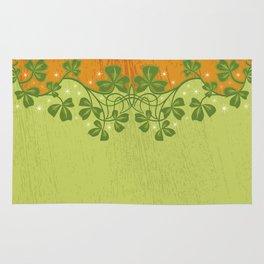 Irish Clover Pattern Rug