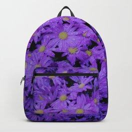 violet  chrysanthemum Backpack