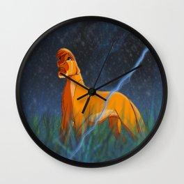 Arcana's Thunder Wall Clock