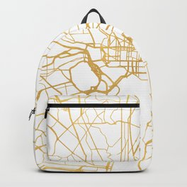WASHINGTON D.C. DISTRICT OF COLUMBIA CITY STREET MAP ART Backpack