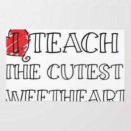 Teacher Valentine's Day Funny Teachers Gifts Men Women Rug