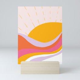 laurel canyon sunrise Mini Art Print