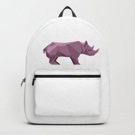 Origami Rhino Backpack