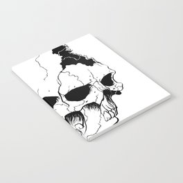 Skull (Fragmented and Conjoined) Notebook