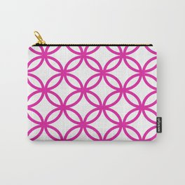 Interlocking Pink Carry-All Pouch