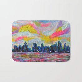 An Evening In Vancouver Bath Mat