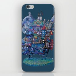Fandom Moving Castle iPhone Skin