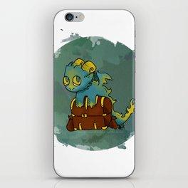Little Sin Dragon - Greed iPhone Skin