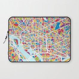 Washington DC Street Map Laptop Sleeve