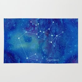 Constellation Sagittarius  Rug