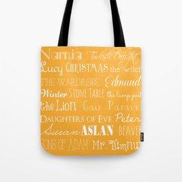 Narnia Celebration - Marigold Tote Bag
