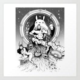 FandomThrone Art Print