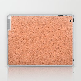 cork board background Laptop & iPad Skin