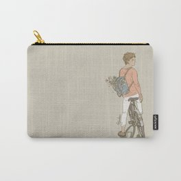 """"""" The Flower Boy """" Carry-All Pouch"""