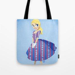 Girl of Liberty Tote Bag