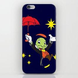 Jiminy Cricket iPhone Skin