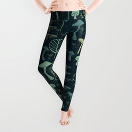 Magic Forest Green Leggings