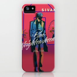 TALKIE BOY TOUR PINK iPhone Case