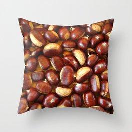 castanea  Throw Pillow