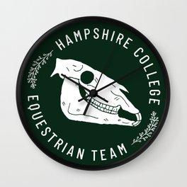 Hampshire Equestrian Wall Clock