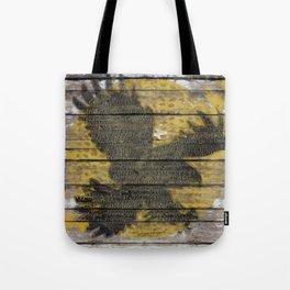 Eagle Sunset Tote Bag