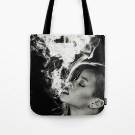 RIHANNA SMOKE Tote Bag